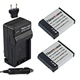 Newmowa AHDBT-001 Battery (2-Pack) and Charger kit for GoPro AHDBT-001 - AHDBT-002 and GoPro HERO2