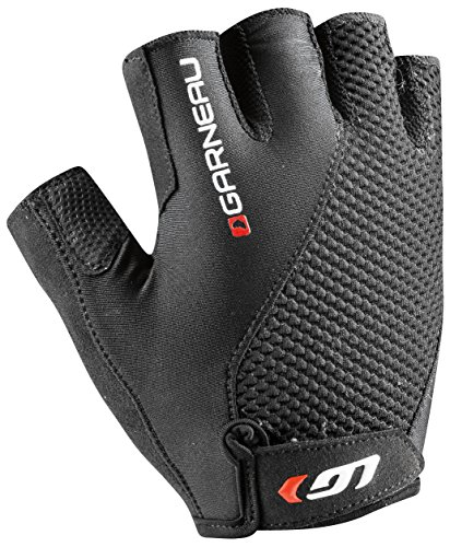 Louis Garneau Air Gel Plus Gloves - Short Finger - Men's Black, XXL (Plus Black Gloves)