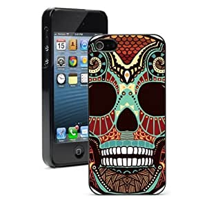 For iPhone 4 4S Hard Case Cover Candy Tribal Skull