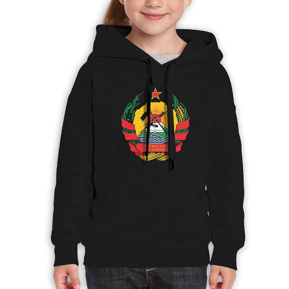DTMN7 Emblem Of Mozambique Cool Printed Cotton Sweatshirt For Teen Girl Spring Autumn Winter