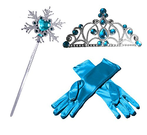 Princess Dress Party Accessories Snowflake