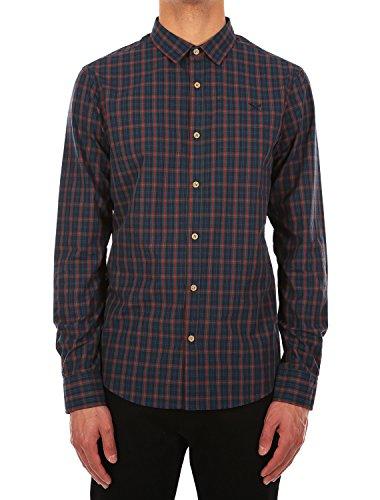 IRIEDAILY Mc Kieran LS Shirt [green blue]