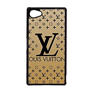 Creative Visual Cover Case Louis And Vuitton Logo Phone Case Snap on Sony Xperia Z5 Compact Louis With Vuitton Logo Cover Lv Mark