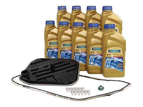 BLAU F2A1063-F Audi Q5 ATF Automatic Transmission Fluid Filter Kit - 2011-17 w/ 8 Speed Tiptronic (Includes SQ5) by Blau