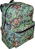 Nickelodeon Jr Boy's TMNT 16'' School Bag Backpack w/ Laptop Pocket