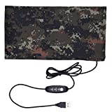 Reptile Heating Pad - USB Reptile Warmer Mat - Heating Sheet Carbon Fiber Pet Heating Pad (15 x 28cm 5.91 x 11.02 inch - With Switch Temperature Controller)