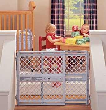 Amazon Com Large Child Safety Gate Barricade Swings Toddler Pet