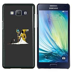 LECELL--Funda protectora / Cubierta / Piel For Samsung Galaxy A5 A5000 -- Wizzard Capucha nieve cuento de hadas Magic Ball Palo --