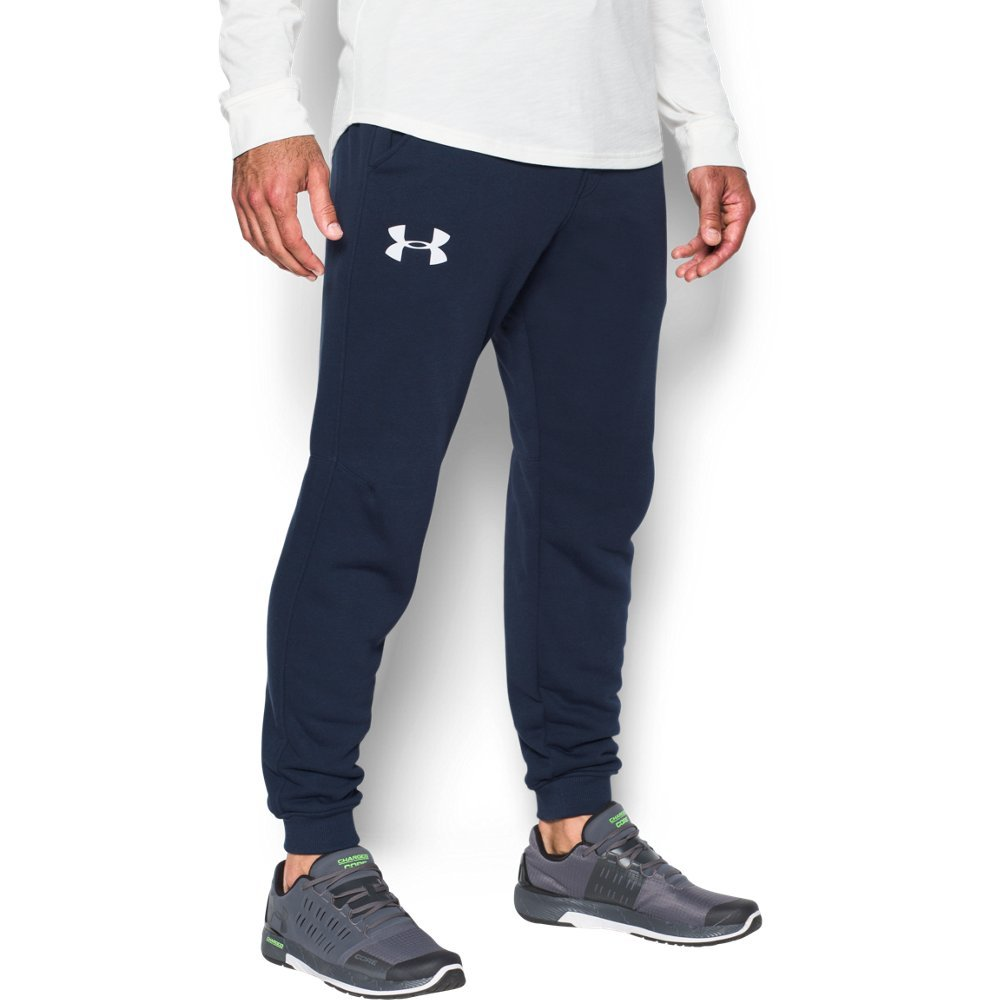 Under Armour UA Rival Fleece Joggers MD Midnight Navy
