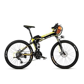 TX660D 500W 26 Suspensión completa plegable bicicleta eléctrica, suspensión completa, bicicleta de