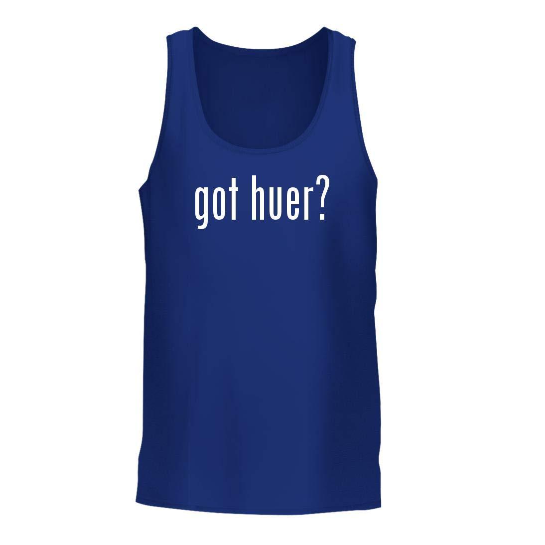 got Huer? - A Nice Men's Tank Top, Blue, Large by Shirt Me Up