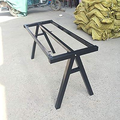 Base de escritorio Patas de mesa de comedor de hierro forjado ...