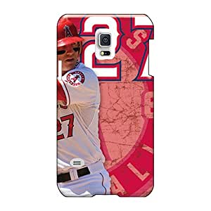 Protective Cell-phone Hard Cover For Samsung Galaxy S5 Mini (NDx2556aJQG) Unique Design Nice Los Angeles Angels Series