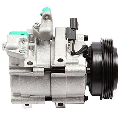 SCITOO Compatible with A/C Compressor CO 10703C fits 01-06 Hyundai Santa Fe /99-05 Hyundai Sonata 2.4L