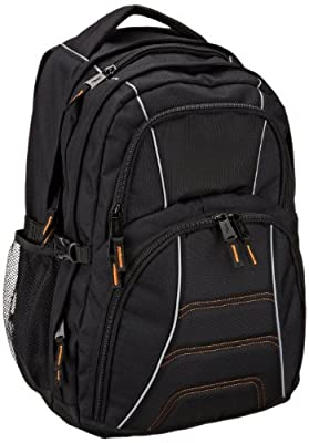 AmazonBasics Backpack for Laptops up to 17-inches by AmazonBasics