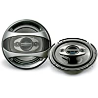 Pioneer TS-A1683R 4-Way Speakers-6.5-Inch (Discontinued by Manufacturer)