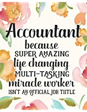 Accountant Gifts: Funny Thank You Appreciation Present for Women Friends, Family or Coworkers