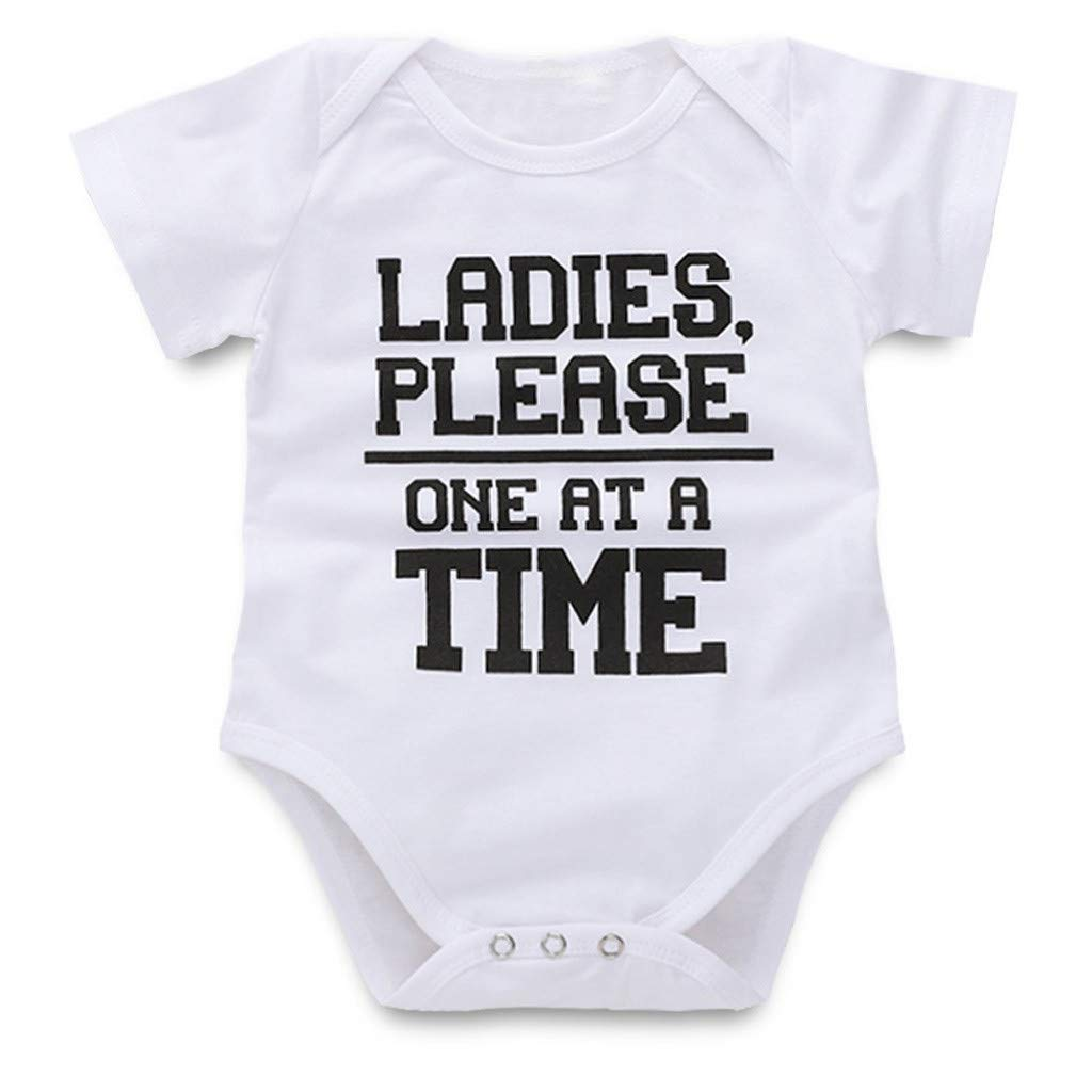 Baby Girl Boy Clothes Onesie Bodysuit Summer Romper Jumpsuit Outfits Pajama Clothes Yamally