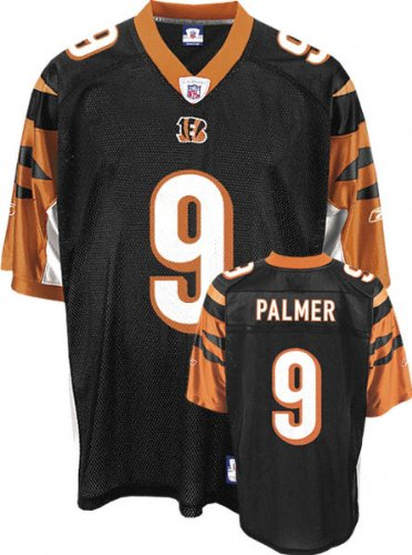 NFL Football Trikot/Jersey CINCINNATI BENGALS Carson Palmer #9 black LARGE (L) rbk