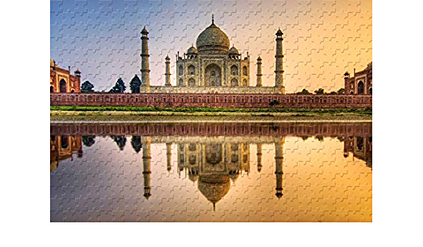 Taj Mahal India DIY Jigsaw Puzzle 300 Pieces Adults Kids Learning Education Toys