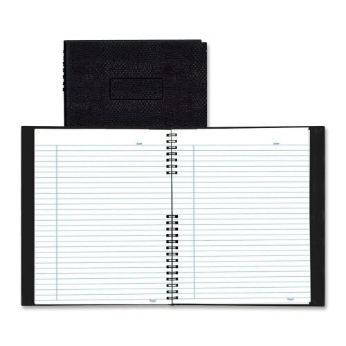 Wholesale CASE of 10 - Rediform Wirebound NotePro Professional Notebooks-Wirebound Notebook, 100 Shts, College Rule, 8-1/2''x11'', BK by Red