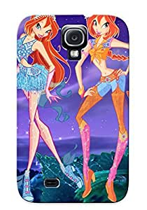 Fashionable Style Case Cover Skin For Galaxy S4- Free Online Winx Club Cartoon Program Episode Kentbaby