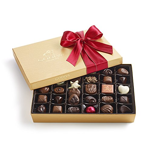 Godiva Chocolatier 36 Piece Holiday Ballotin, 14.3 Ounce