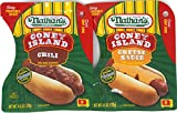 Variety Pack - Nathans Famous Coney Island Hot Dog Topping (4.5 oz) - Chili, Cheese Sauce