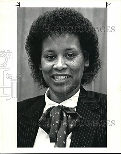c7082d511 Historic Images 1985 Press Photo Ella H Thomas, new Director of the CPI -  10 x 8 in