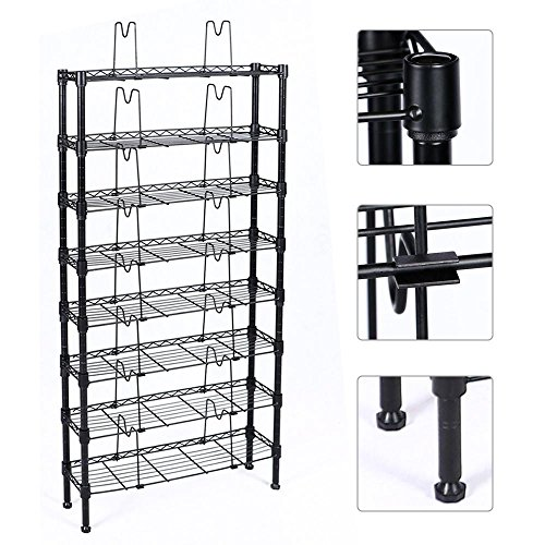 Wire Dvd Rack - 8