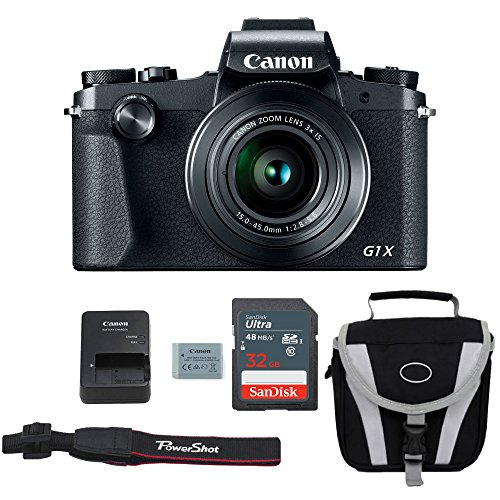 Canon G1X Mark III Digital Camera Bundle + Canon PowerShot G1X Mark III Advanced...
