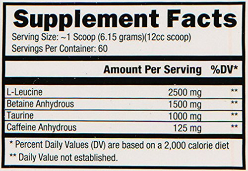 Controlled Labs Stimino Nutritional Drink, Fruit Punch, 369 Gram