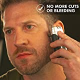 Tacshaver by Bell+Howell Moustache and Beard Rotary Shaver with Pop-up Trimmer for Sharper Moustache and Sideburn Edges Seen On TV