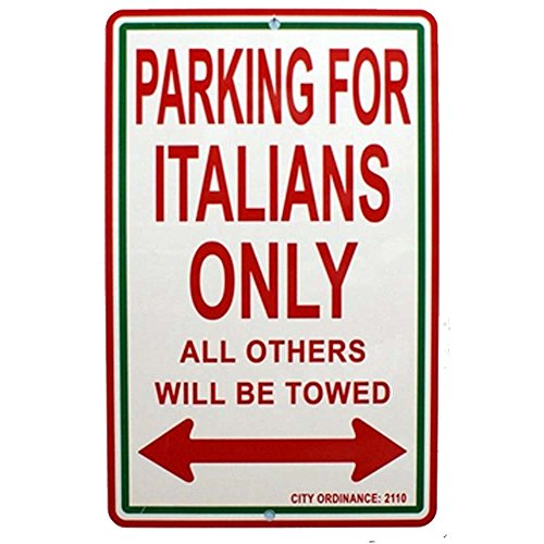 Express Design Group Italy Parking Color Signs