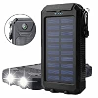 20000mAh Solar Power Bank Solar Charger ...