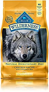 BLUE Wilderness Adult Healthy Weight Grain-Free Chicken Dry Dog Food 4.5-lb