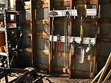 Gladiator GAWC042PZY 4 foot GearTrack-Heavy Duty Wall Channel, 2-Pack