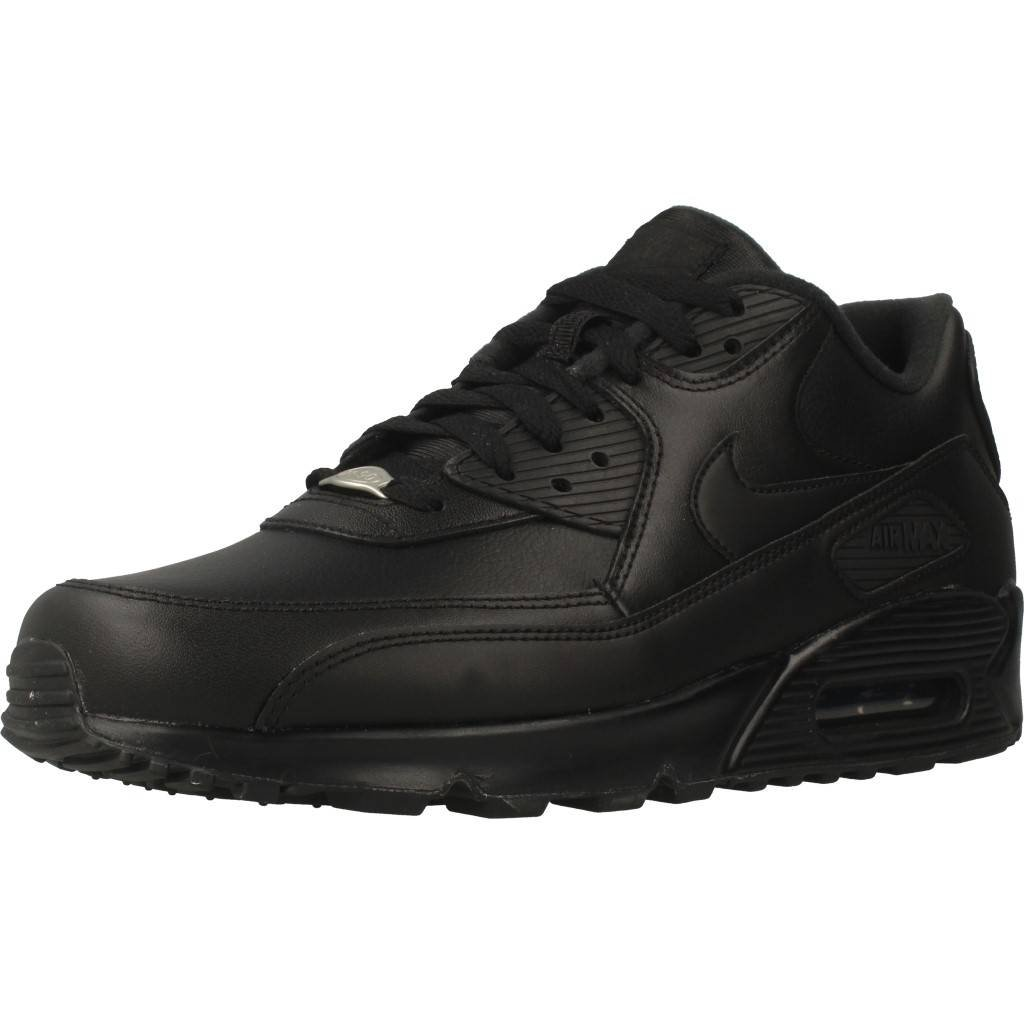 new product 3e2e2 ed4ae NIKE Air Max 90 Leather Mens Trainers  Amazon.co.uk  Shoes   Bags