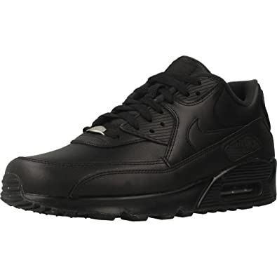 32f2fd111db8 NIKE Air Max 90 Leather Mens Trainers  Amazon.co.uk  Shoes   Bags