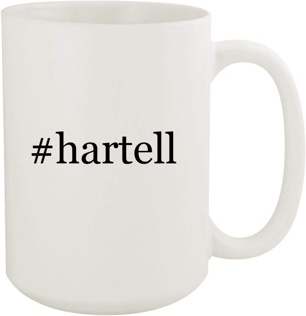 #hartell - 15oz Hashtag White Ceramic Coffee Mug