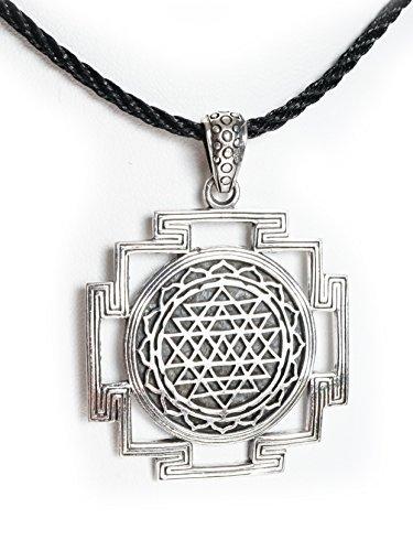 Spirit of Avalon - Colgante Amuleto Sri Yantra Geometría ...