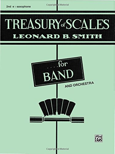 Treasury of Scales for Band and Orchestra: 2nd E-flat Alto Saxophone - Alto Saxophone Scales