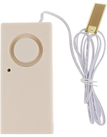 PETSOLA Seguridad En El Hogar Sistema De Alarma De Fugas Detector De Agua Alta