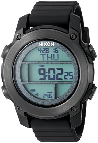 Nixon Men's A962001-00 Unit Dive Digital Display Japanese Automatic Black Watch