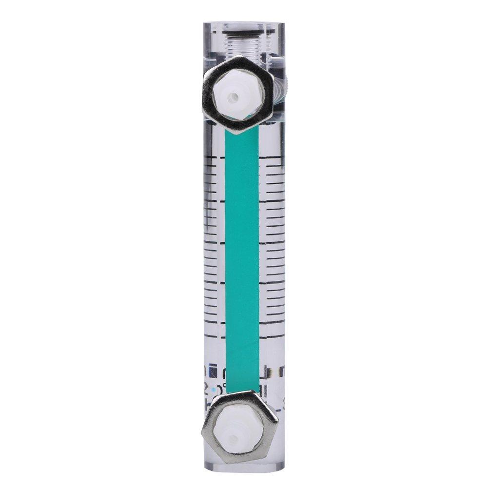 Luftmengenmesser Steuerventil Luftmengenmesser 2,5-25 LPM Durchflussmesser Geeignet f/ür Luftmengenmessungen Luftmengenmesser