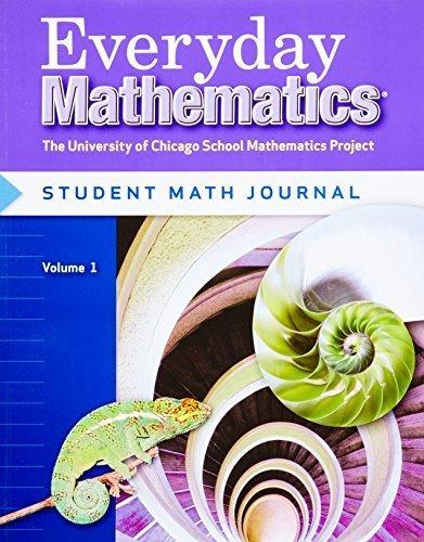 Everyday Mathematics, Grade 6: Student Math Journal, Vol. 1 (2007-03-30) (Wright Group Mcgraw Hill 3rd Grade Math)