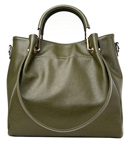 Bag Ladies Tote Hobo wanture Green Leather Handbag Purse Womens Cross Shoulder Handbags Bag Body Designer zgwwqItB