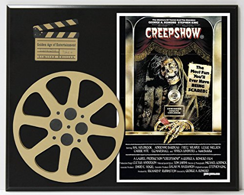 CREEPSHOW GEORGE ROMERO STEPHEN KING POSTER LIMITED EDITION MOVIE REEL - Shipping Priority Tracking International