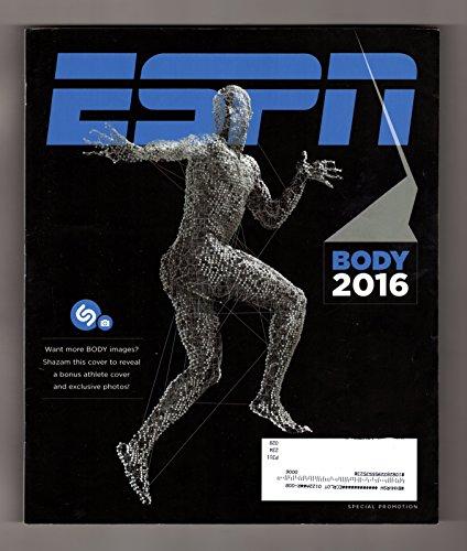 Espn Body 2016   Elena Delle Donne Nude Bonus Cover  1 Of 8 Variant Covers   Michael Phelps  Simone Biles  David Ortiz  Von Miller  Christen Press  April Ross  Claressa Shields  Dwyane Wade