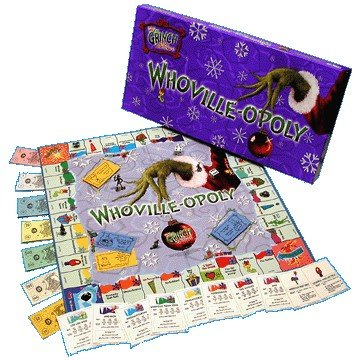 Whoville-opoly Monopoly Style Board Game by Late for the Sky